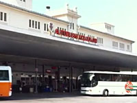 Main Bus Station in Dubrovnik